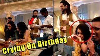 Shrenu Parikh Crying On Her Birthday | Shoking Surprise