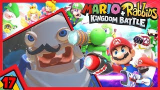#17 IL BOSS DEL 3 MONDO! Tasma-fan il Fantasma che canta.  | Mario + Rabbids: Kingdom Battle ITA
