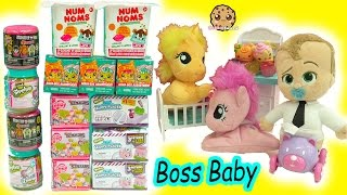 The Boss Baby + My Little Pony Babies - Shopkins, MLP Stack