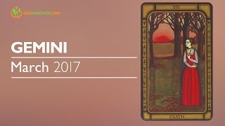 Gemini March 2017 Psychic Tarot Horoscope Reading 💝 New journey in Relationship & Career