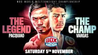 Pacquiao vs Vargas FULL FIGHT Nov 6 2016
