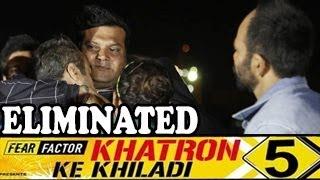 Dayanand Shetty aka Daya's EMOTIONAL EXIT Khatron ke Khiladi 5 20th April 2014 FULL EPISODE HD