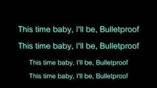 La Roux - Bulletproof Lyrics
