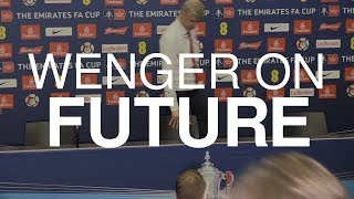 Arsene Wenger Discusses Arsenal Future After FA Cup Win