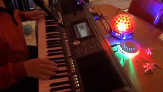 Keyboard Fly with you PSR S970 / Tyros vocal cover