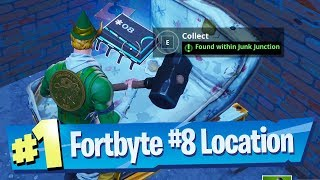 Fortnite Fortbyte #8 Location - Found within Junk Junction