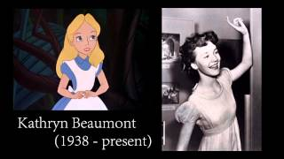 Tribute to the Classic Voice Actors of Disney