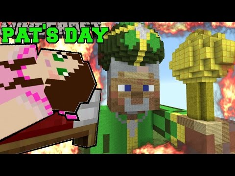 Minecraft: BURNING ST. PATRICK'S DAY (NOBODY SURVIVES MY HOLIDAY!) Mini-Game