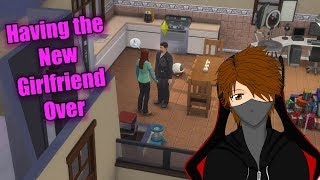 Let's Play The Sims 4 Get Famous EP53 Having the new girlfriend over