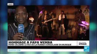 Papa Wemba : Paris rend hommage en musique au roi de la rumba congolaise