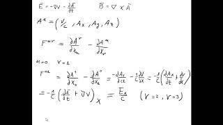 762 Electromagnetismo - Relatividad - Cuadrivector potencial y potenciales de Lienard-Wiechert