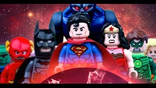 Lego JUSTICE LEAGUE  War of DARKSEID (BATMAN, SUPERMAN, FLASH, GREEN LANTERN, FLASH, WONDER WOMAN)