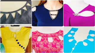 40+ Best Neck Designs With Key Holes| Stylish Neck Designs For Kurtis Kameez And Frocks