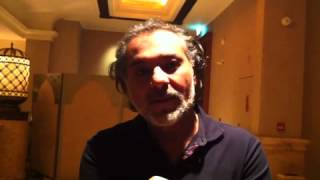 Hatem Ali talks about the importance of filming at the ADFF 2012