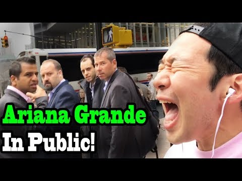 """Download ARIANA GRANDE - """"No Tears Left to Cry"""" - SINGING IN PUBLIC!! free"""