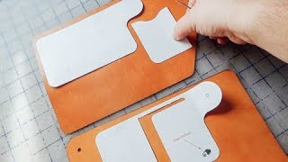 Designing and making a new leather wallet from scratch