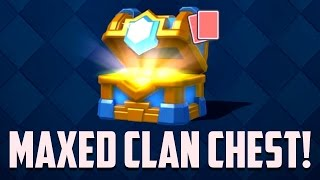 Let's Play Clash Royale #69: LEVEL 10! Maxed Clan Chest