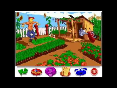 Let s Explore The Farm With Buzzy The Knowledge Bug 1995 Humongous Entertainment