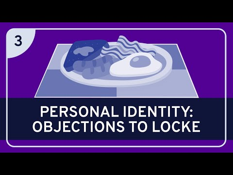 PHILOSOPHY - History: Locke on Personal Identity #3