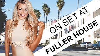 On set at Fuller House in LA!