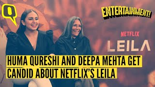 Hear All About Netflix's 'Leila' From Huma Qureshi and Deepa Mehta