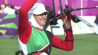 Iran's Zahra Nemati Individual Winner of 2013 Spirit of Sport Awards