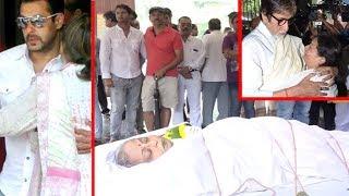 Reeta Bhaduri का अंतिम संस्कार | Full HD Video