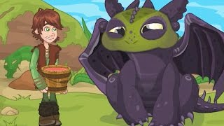 How To Train Your Dragon Full Episode - Lunch Surprise - Disney Movie Cartoon Game for Kids
