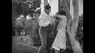 Mary Astor Gets Punch In The Stomach!