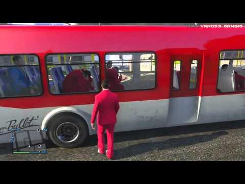 GTA 5 Online Funny Moments Home Run Vehicle Glitch Fun Banana Bus Launch Vanoss Bus