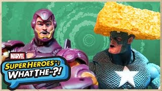 Marvel Super Heroes: What The--?! Captain America vs. Iron Man: The Big Game!