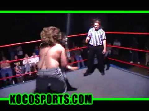 ACW Underground Betsy Ruth vs. Scott 'Bam Bam' Moreau