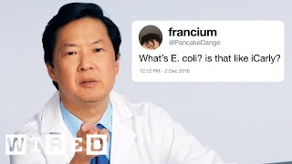 Ken Jeong Answers More Medical Questions From Twitter | Tech Support | WIRED
