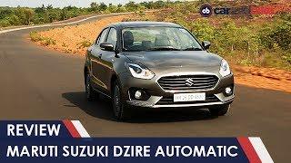 New Maruti Suzuki Dzire Automatic Review | NDTV CarAndBike