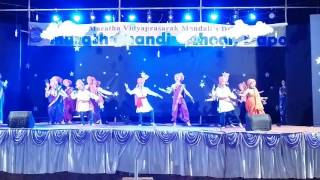 Malhari song from bajirao mastani dance performance by maratha mandir school dapoli