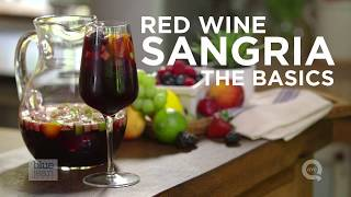 How to Make Sangria - The Basics on QVC
