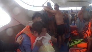BOAT CRASH STRANDED IN THE OCEAN *VOMIT ALERT*  | #ThailandTuesdays Ep. 6