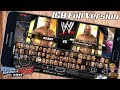 [1GB] WWE Svr 2011 Highly Compressed Download + Unlock Everything For Psp Android