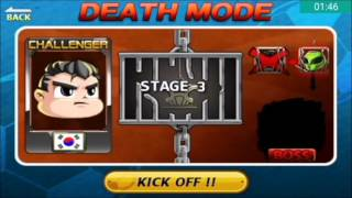 Head Soccer Challenge - Death Mode with South Korea Stages 1-10 (Part 3#)