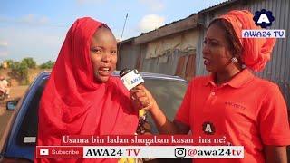 _Usama bin ladan shugaban Kasar Ina ne? (street question) Hausa Version 2018