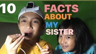10 FAKTA TENTANG ADEK GW!!!!!!!10FACTS ABOUT MY SISTER!!!!!