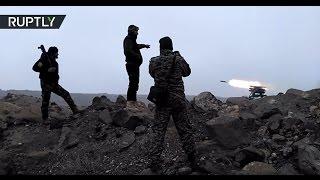 SSA troops use rocket weaponry, make advances in region southeast of Aleppo