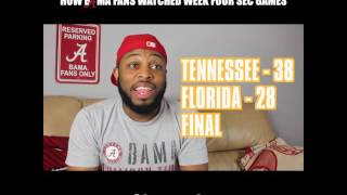 How Bama Fans Watched The Week Four SEC Games (2016)