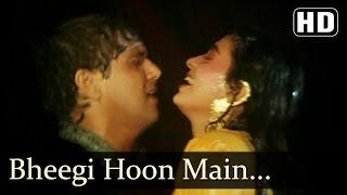 Bheegi Hoon Main Bauchhar Se - Govinda - Juhi Chawla - Karz Chukana Hai - Bollywood Songs
