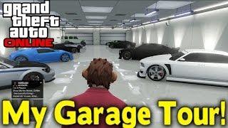 GTA Online - MY GARAGE TOUR! [GTA V]
