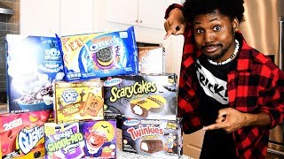 TOP 10 HALLOWEEN/FALL THEMED SNACKS (Cooking With Kenshin MINI)