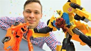Детское видео: игрушки #Трансформеры. Трансформер Биск похитил Миникона Бамблби! Фёдор поможет!