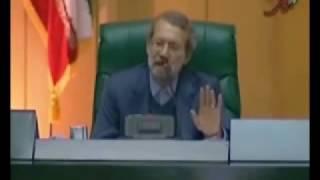 فيلم کامل پاسخ لاريجانی به احمدی نژاد/در رابطه با نمایش فیلم جواد لاریجانی در مجلس/قسمت دوم