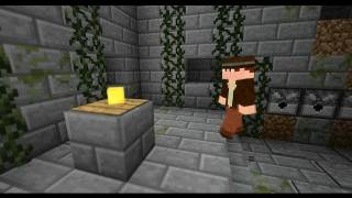Indiana Jones - Raiders of the lost ark reenactment in Minecraft