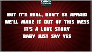 Love Story  Taylor Swift Tribute  Lyrics